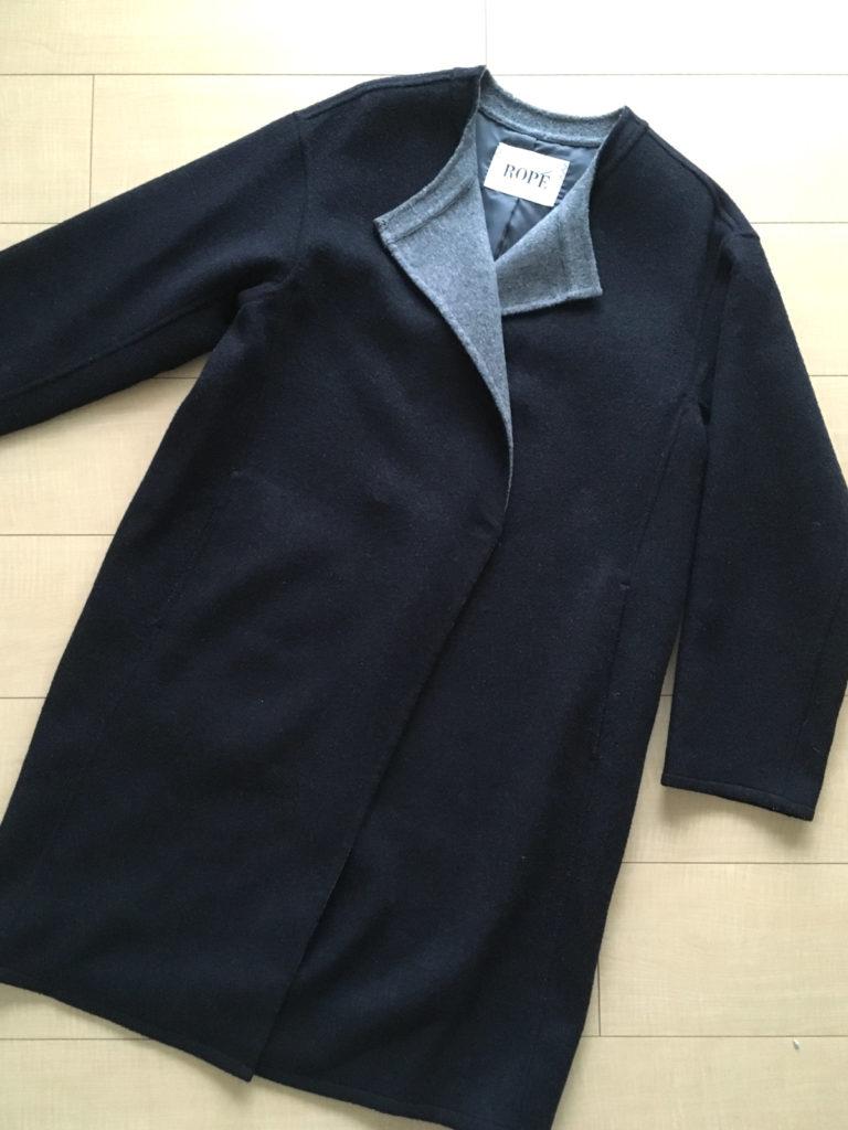 JUNファミリーセール 戦利品 ROPEのコート