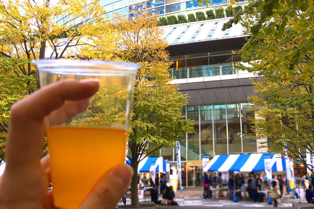 大江戸ビール祭り 口コミ in品川インターシティ 2017