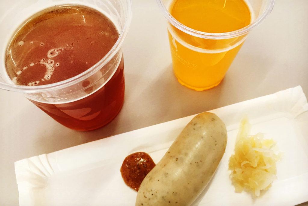 大江戸ビール祭り 口コミ IPAとゆうばりメロンエール、フード