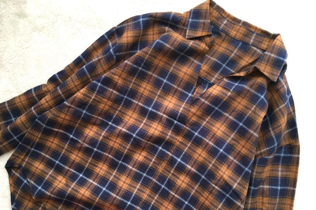 JUNファミリーセール 戦利品 2018年3月 VISのスキッパーシャツ