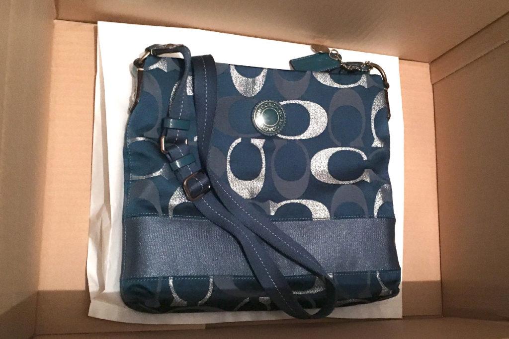 コーチのショルダーバッグをWonderREX(ワンダーレックス)で買取り!
