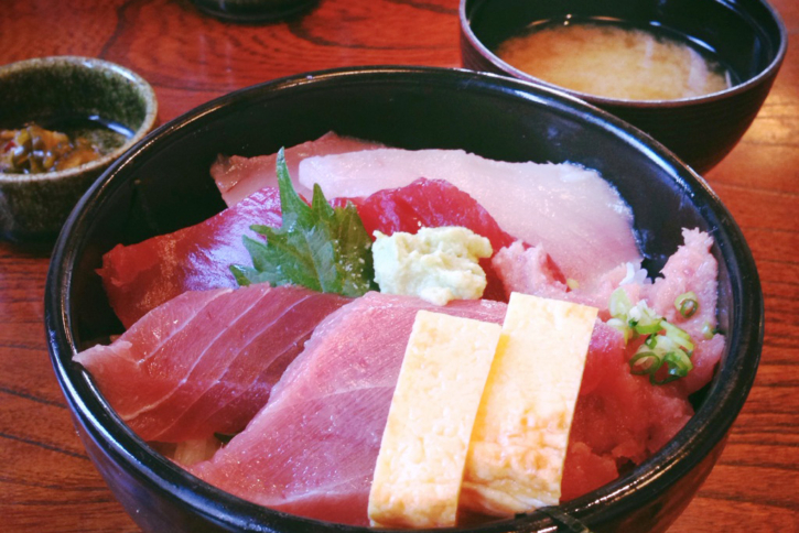 みさきまぐろきっぷで鮮味楽の鮮味楽丼!