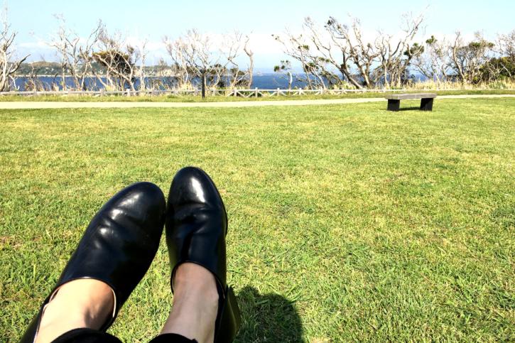 みさきまぐろきっぷで城ヶ島公園へ。