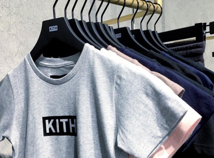 KITH ロサンゼルスのボックスロゴTシャツ!サイズは…
