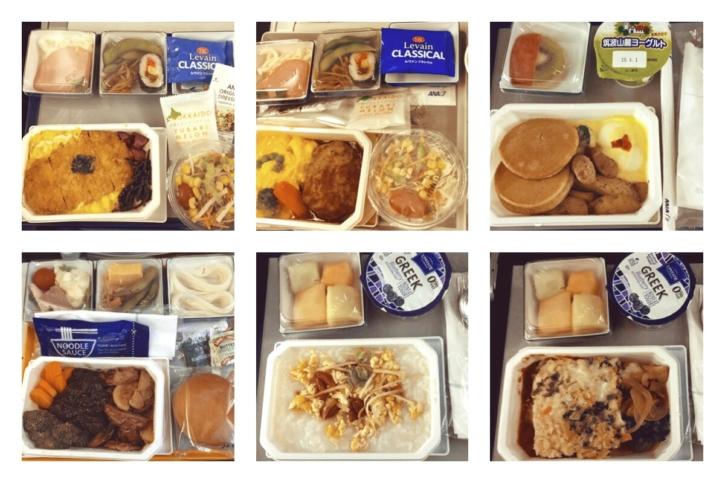 ANA(アナ) 国際線 機内食
