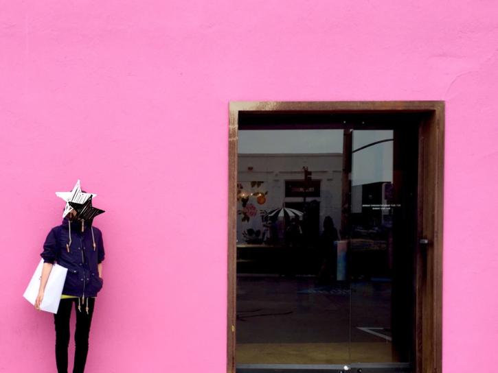 ロサンゼルス インスタ映えなPaul Smithの壁